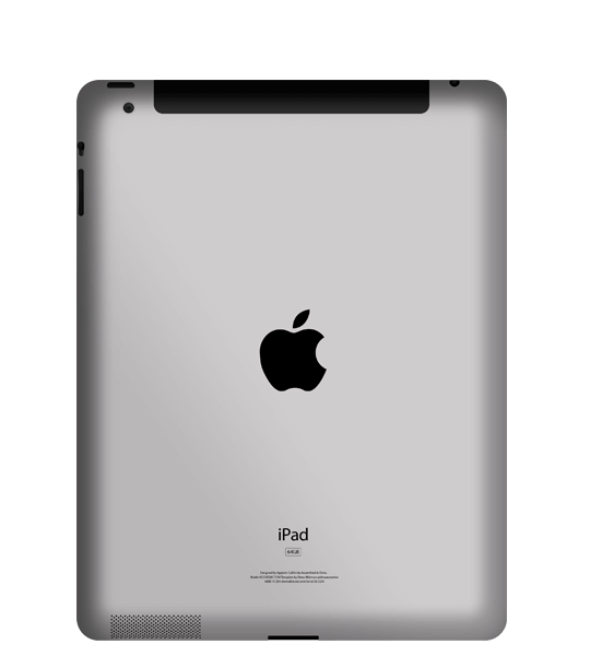 iPad 3 backcover reparieren